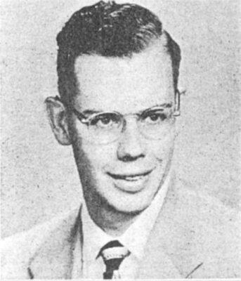 George D. Batcheler Jr., 1952