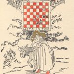 John Frederick Harbeson, Chess Christmas card, 1930