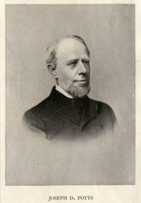 Joseph D. Potts, 1880