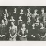 Kappa Delta Gamma, sorority, group photograph, 1924