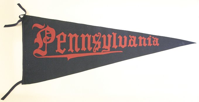Pennant, University of Pennsylvania, 1910