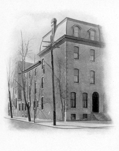 Phi Gamma Delta, Beta chapter fraternity house, 1905