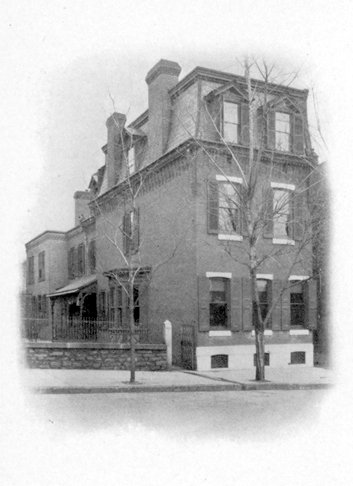 Phi Kappa Sigma, Alpha Chapter, fraternity house, 1905