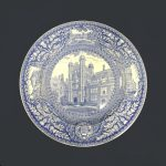 Wedgwood china, plate depicting Provost's Tower, 1929