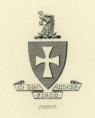 Sigma Chi fraternity, insignia, 1901