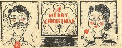 Darwin Urffer, Christmas card, 1930