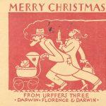 Darwin Urffer, Christmas card, 1932