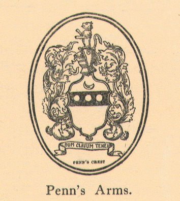 William Penn's Coat of Arms