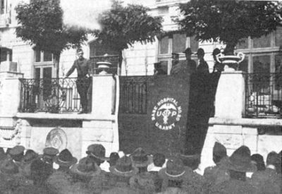 World War I, Base Hospital No. 20, opening ceremonies, 1918