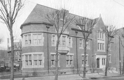 Zeta Psi, Sigma chapter fraternity house, 1911
