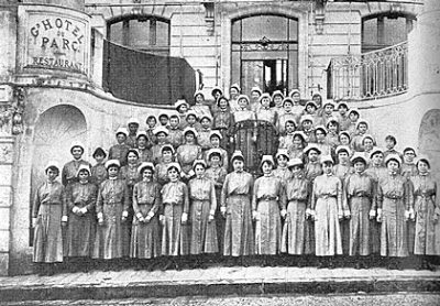 Base Hospital No. 20, nurses, 1919