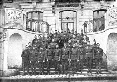 Base Hospital No. 20, officers, 1919