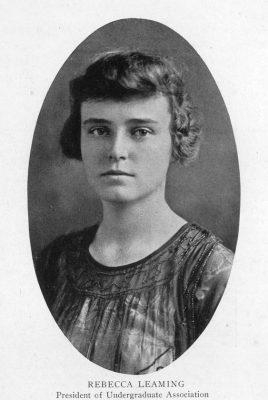 Rebecca Leaming, 1919