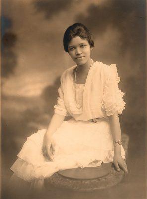 Sadie Taner Mossell Alexander, 1921