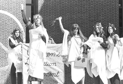 Student protest, Women's Liberation Movement, 1970