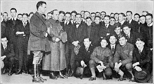 The First Roll Call, Thanksgiving, 1917