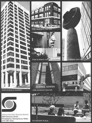 University City Science Center, collage of views, 1978