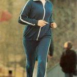 Woman running, 1977