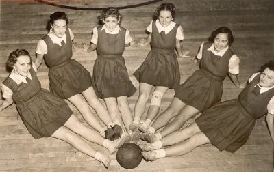 Women's basketball stars, 1938