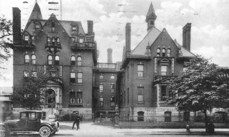 Presbyterian Hospital, c. 1922