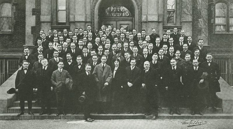School of Medicine, fourth year class, 1919