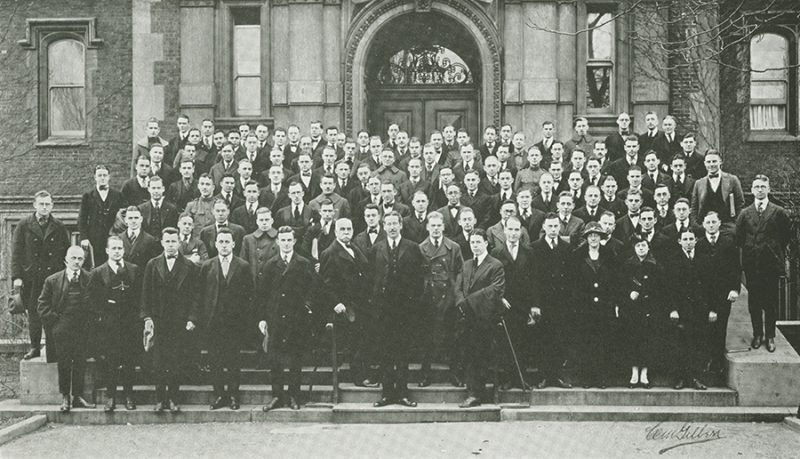 School of Medicine, third year class, 1919
