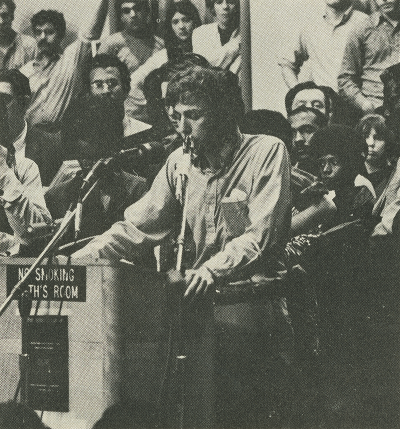 1969 College Hall sit-in to protest the University City Science Center