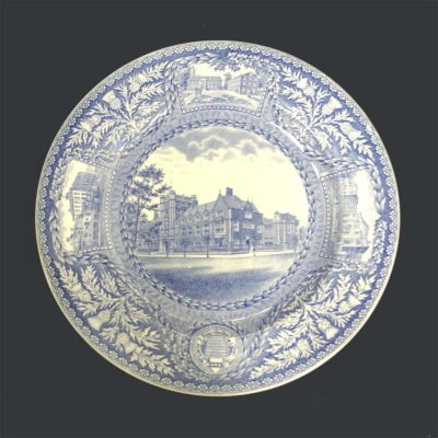 Wedgwood dinner plate, Dental School, 1929
