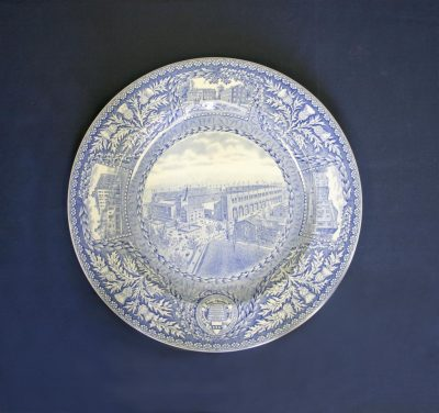 Wedgwood dinner plate, Franklin Field, 1929