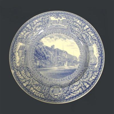 Wedgwood dinner plate, Towne Scientific School, 1929