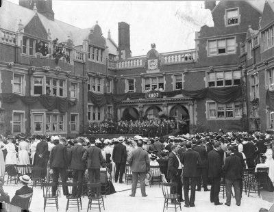 Class Day ceremonies, 1902