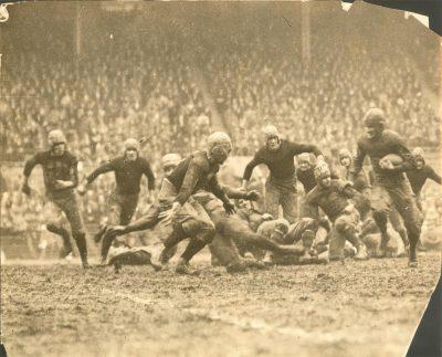 Football, Penn vs. University of Illinois, 1925