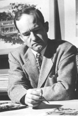 George Cooper Rudolph, Jr. (1912-1997), B.S. 1933, M.S. 1934