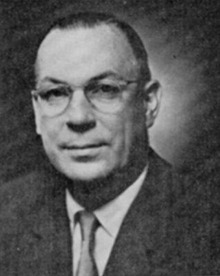 Jefferson Roy Carroll, Jr, (1904-1990), B.Arch. 1926, M.Arch. 1928