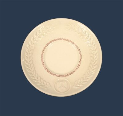 Wedgwood china, saucer for cup, 1940