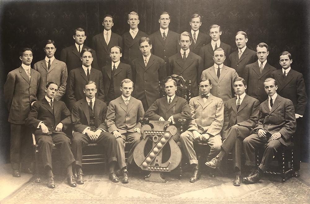 Zeta Psi fraternity, undated